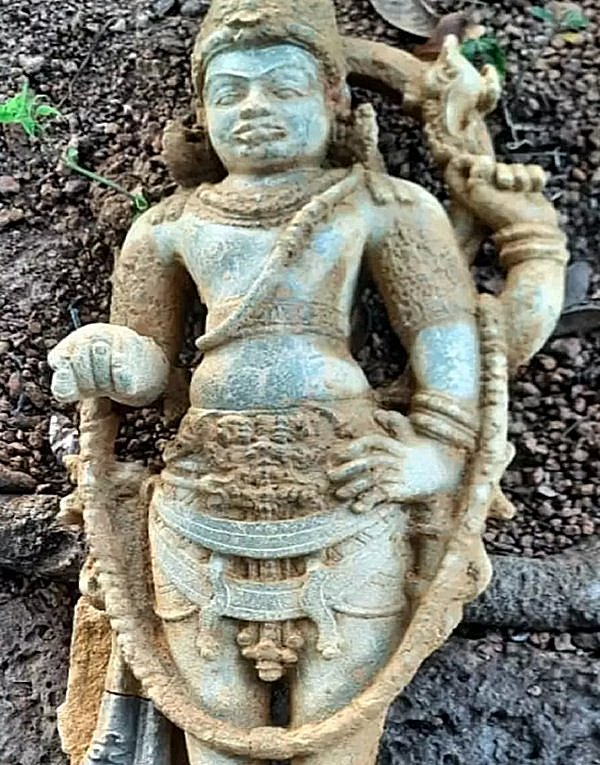 God Vishnumurthy sculpture