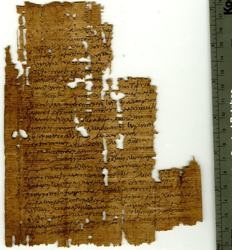 This contract is the first evidence of match-fixing found in the ancient world.