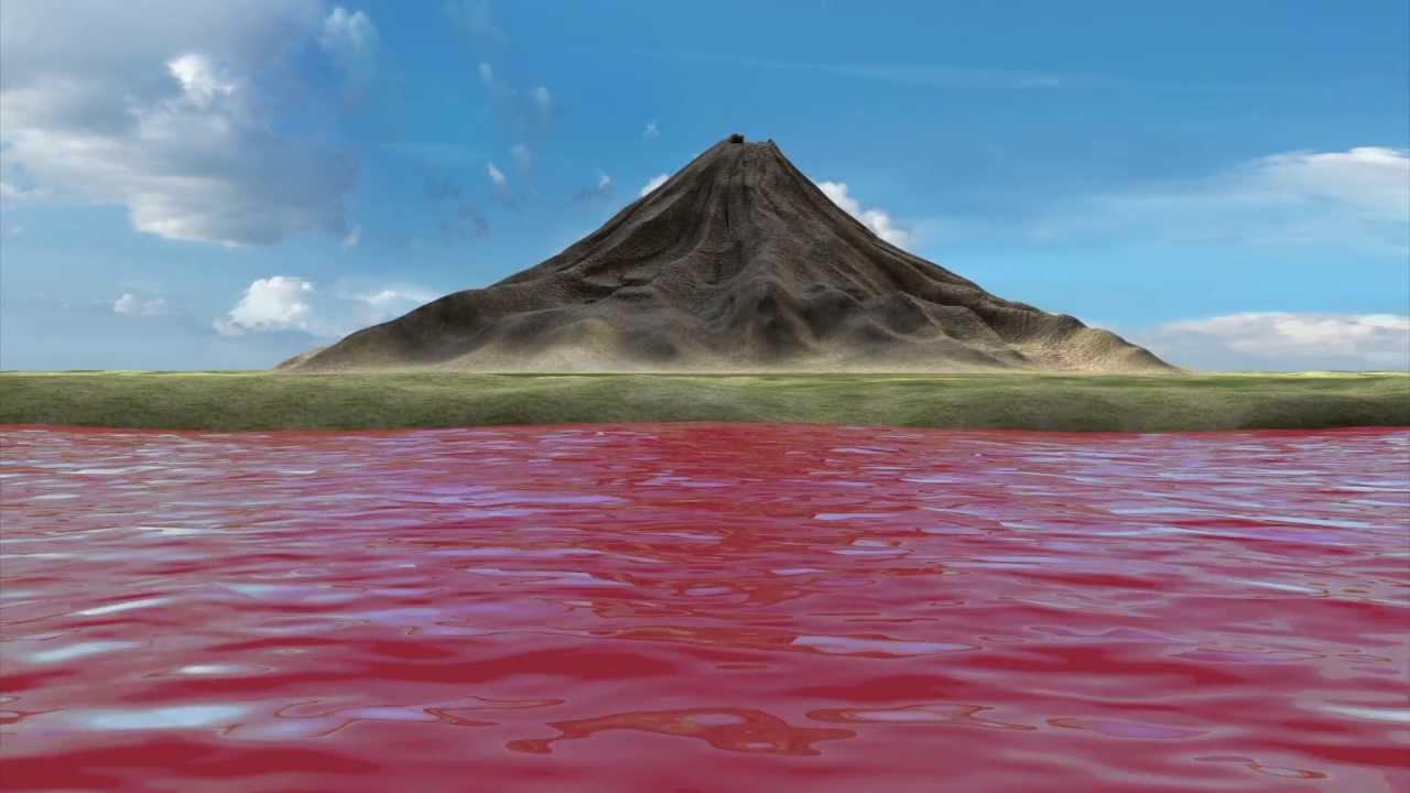 Natron lake