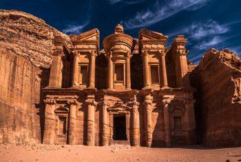 Petra antique town