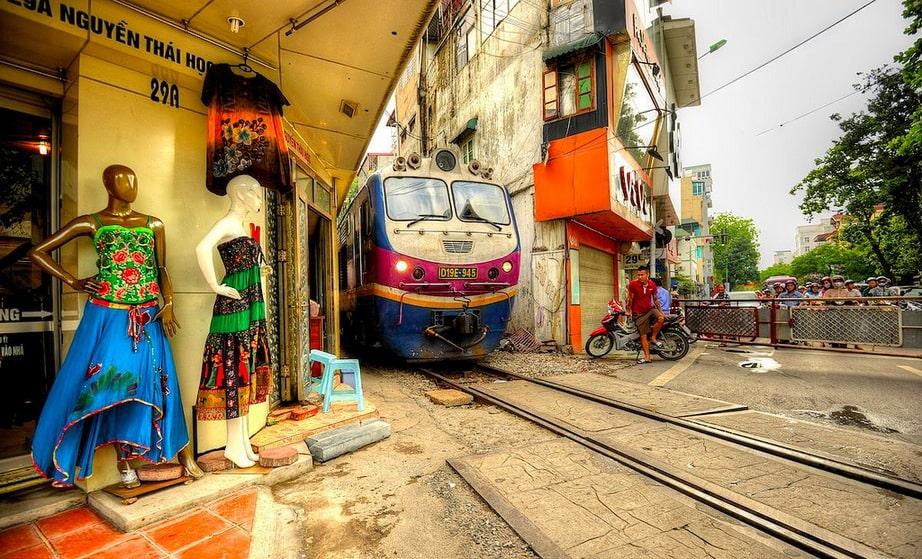 The Doorway / Railway Of Honor-Vietnam