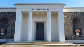 Pompeii Reopening Antiquarium