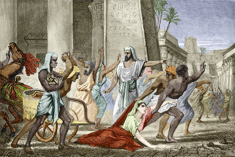 Death of Hypatia in Aleksandria