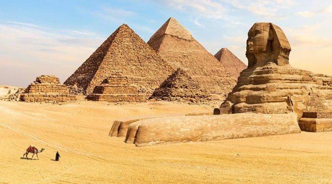 Giza Pyramid Complex.