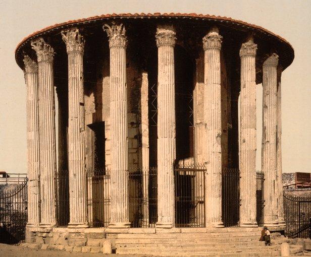 Vesta Temple Rome.