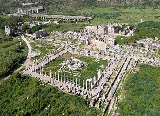 Ancient city of Perga