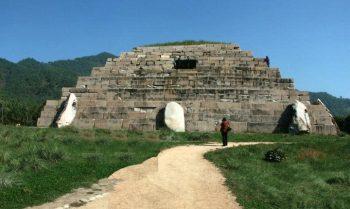 pyramid in China