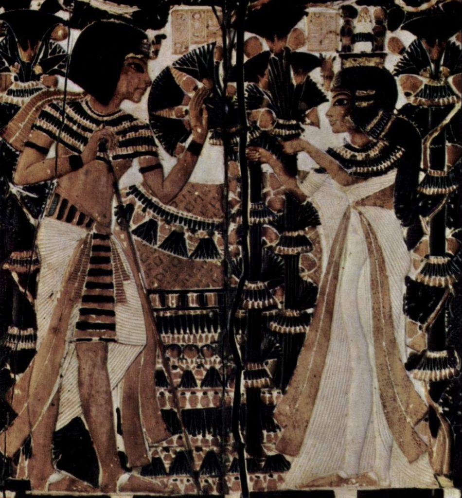 Ankhesenamun and king tut