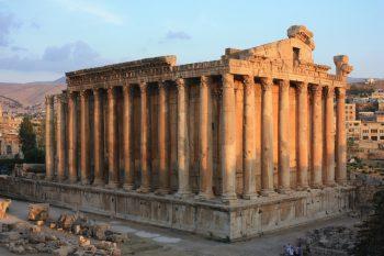 Baalbek temples