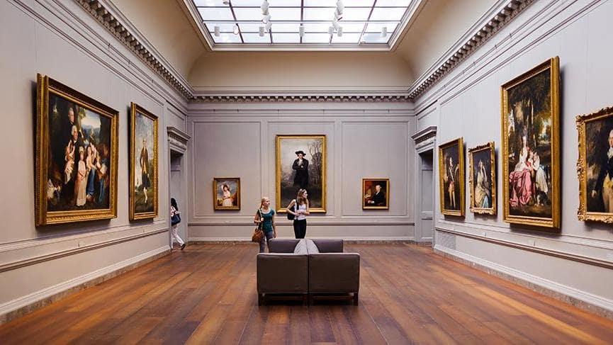 Metropolitan Museum hosts many valuable paintings.