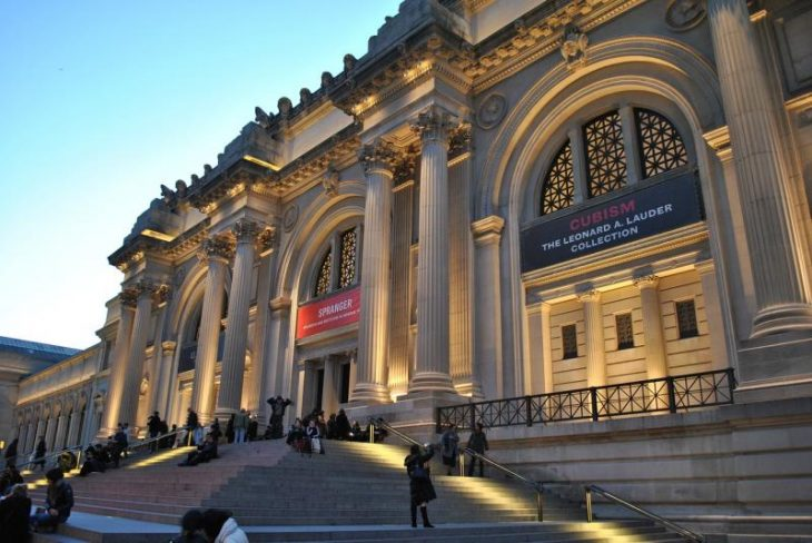 The Metropolitan Museum of Art, located in the state of New York of the United States, celebrates its 151st anniversary.