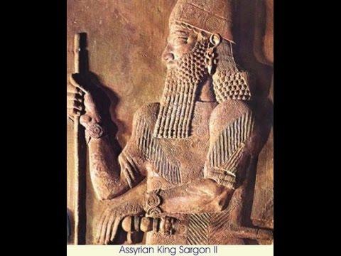 King Sargon II.