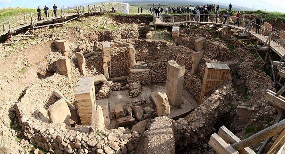 The ancient site of Gobeklitepe