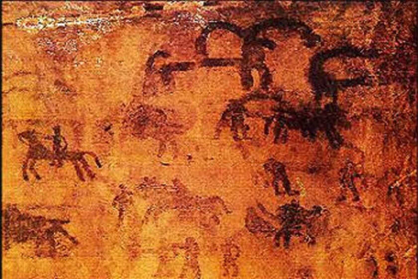 In a barren plain in the province of Lorestan in western Iran, another ancient petroglyph cluster had been discovered in the past years.
