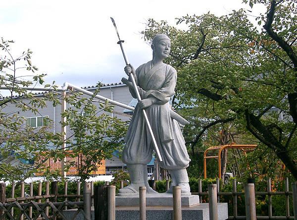 Nakano Takeko monument Fukishima- Japan