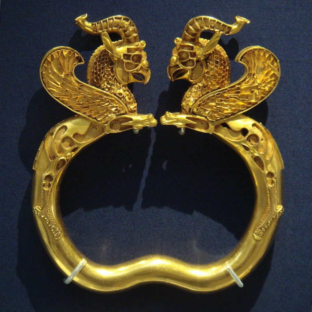 Griffin armlets