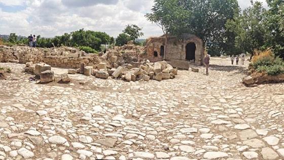 The Bathonea excavations
