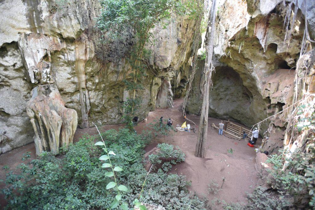 The Penga ya Saidi cave
