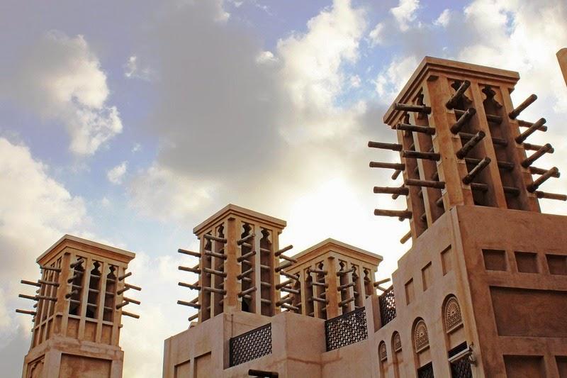 Wind catchers at Madinat Jumeirah.