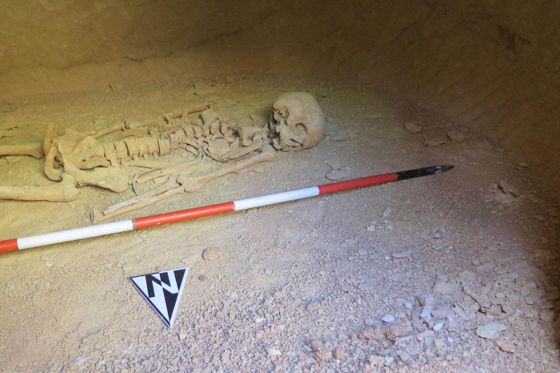 a Punic tomb in Għaxaq