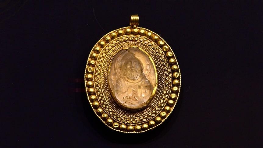 ancient medallion