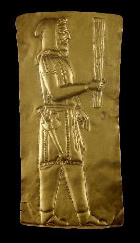 gold votiv plaque