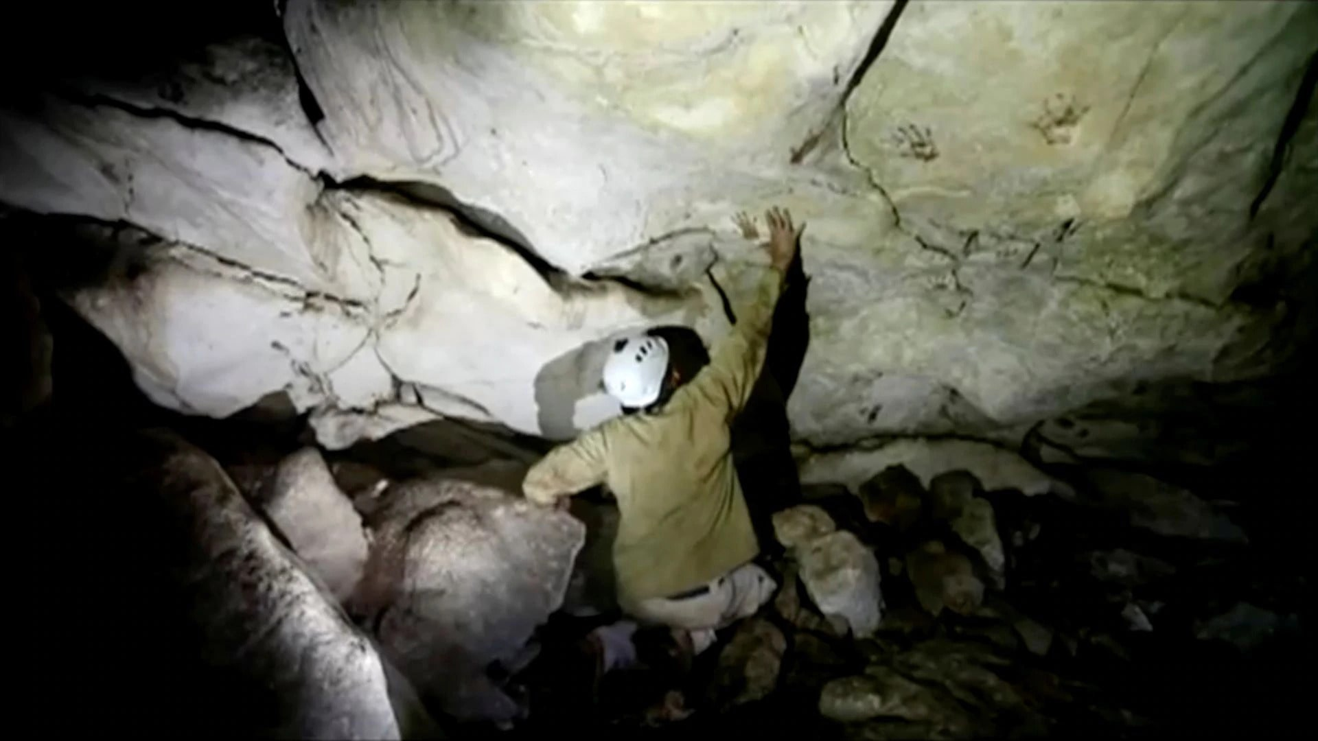 mayan cave
