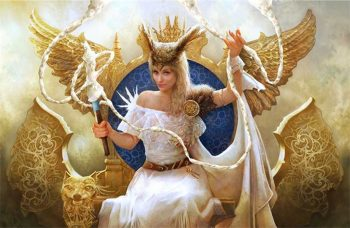 the Queen of the Aesir