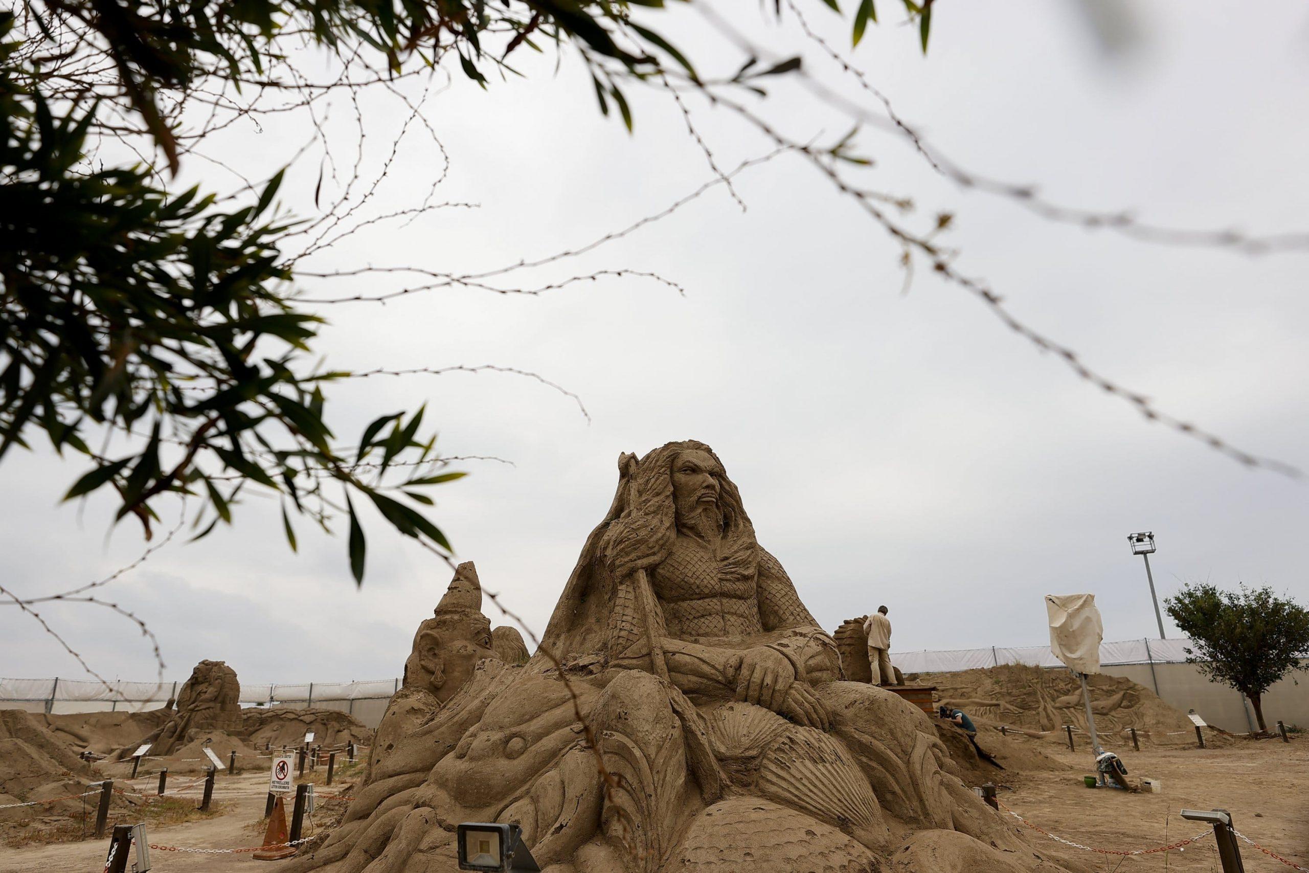 sand sculptor festival