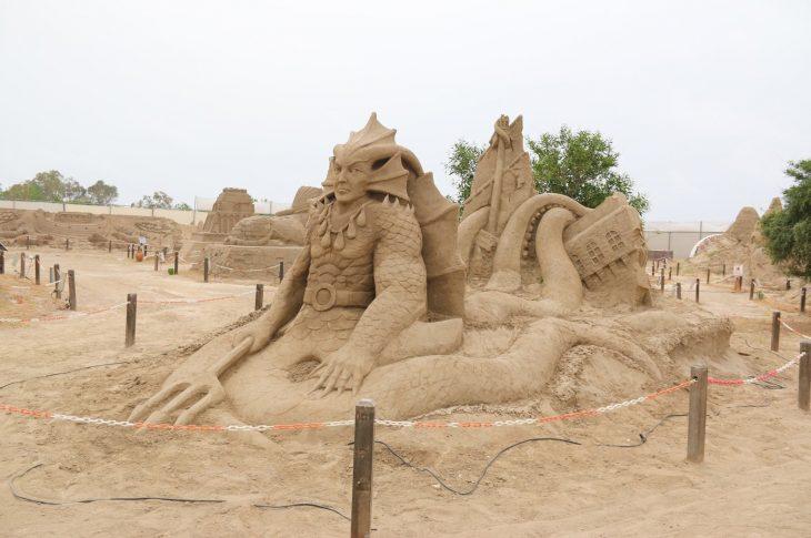 sand sculptor festival ANTALYA