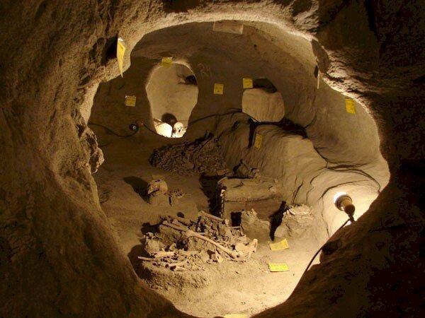 Samen underground city -