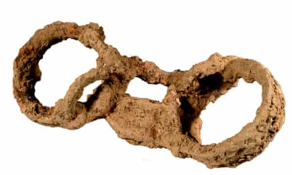 Shackled skeleton