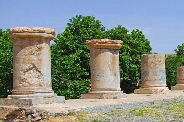 A restoration project has been commenced on the ancient temple of Anahita, which is located in the city of Kangavar, western Iran.