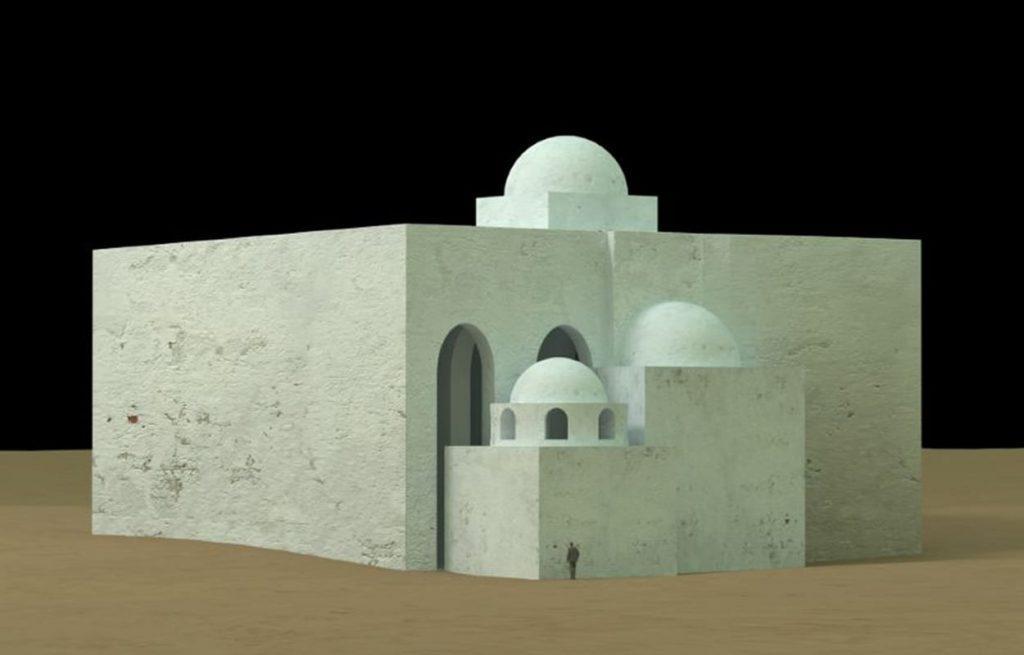 3D visualisation of the church complex Photo: PCMA UW / Agnieszka Wujec