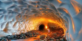 cave and fire