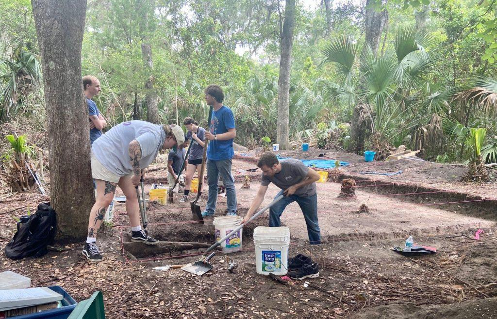 The UNF research team has completed what is likely the most extensive excavations at a Mocama-Timucua site in northeastern Florida history. Photo: UNIVERSITY OF NORTH FLORIDA