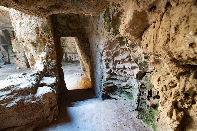 Part of the Hellenistic-era building unearthed at Paphos recently by a team from the University of Avignon. Photo: Municipality of Paphos