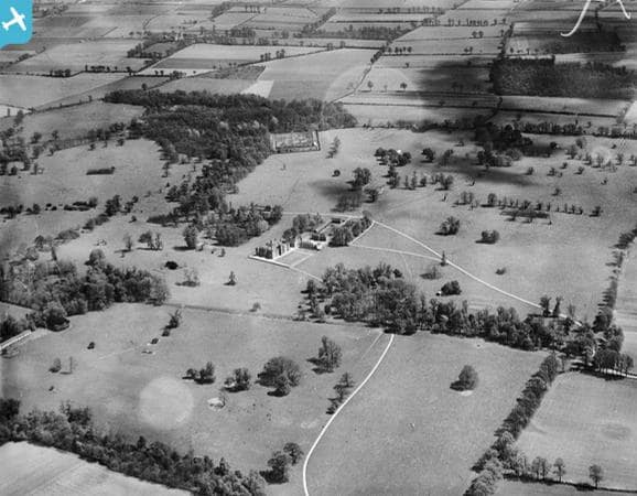Volunteer researchers from the Land Of The Fanns scheme noticed that aerial images resembled a past survey and bird's eye view painting.