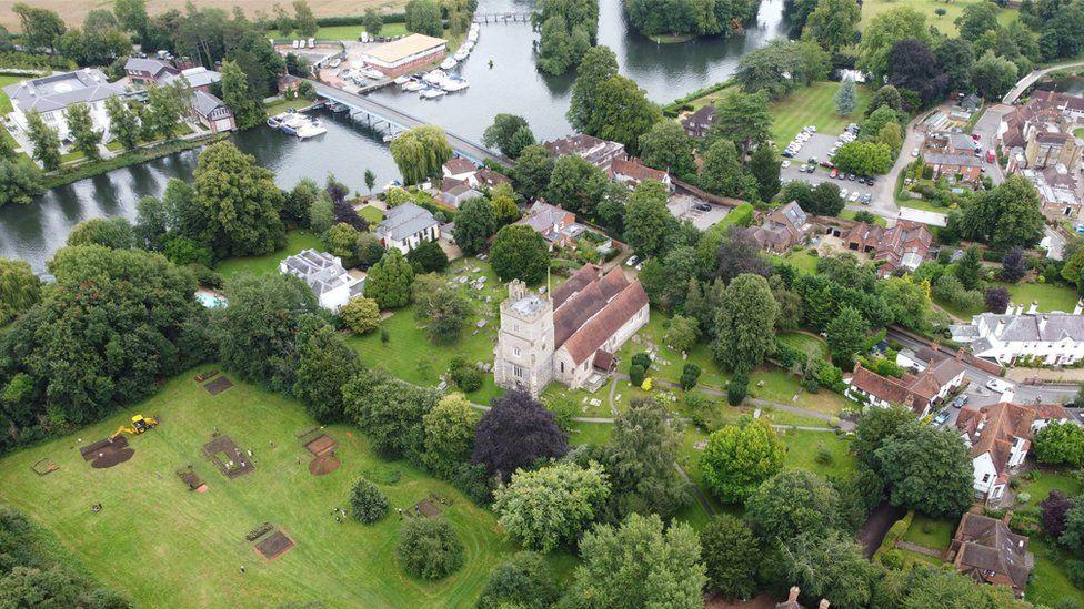 Anglo Saxon monastery