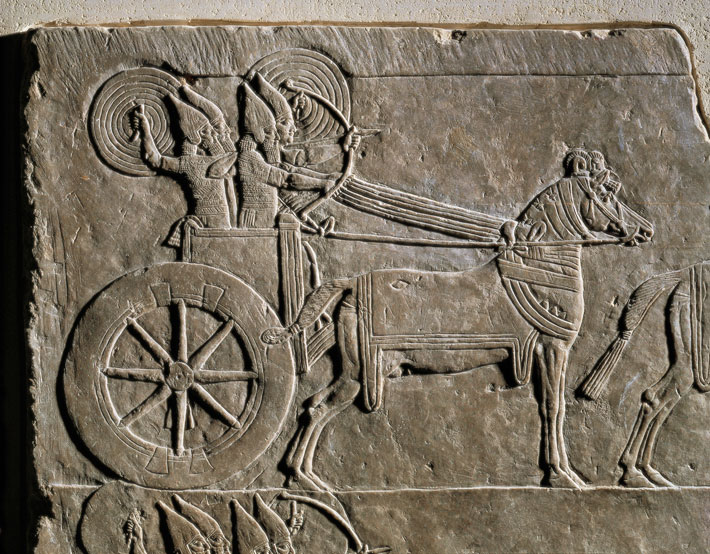 Chariots in Assyrian Army