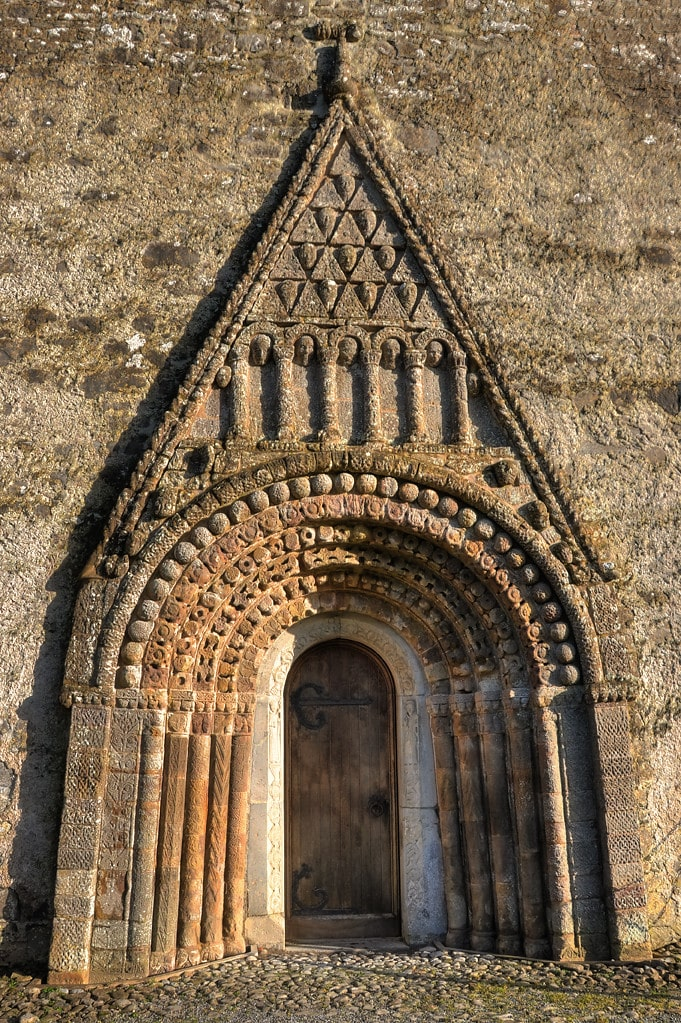 Hiberno-Romanesque  style, Clonfert Cathedral Doorways