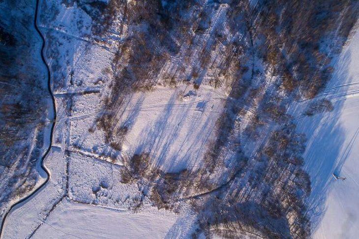 An aerial imaginary of Death Valley. D. Frymark