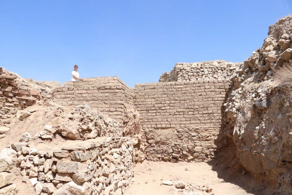 Iron Age walls of Porsuk Höyük (Zeyve) Photograph AA