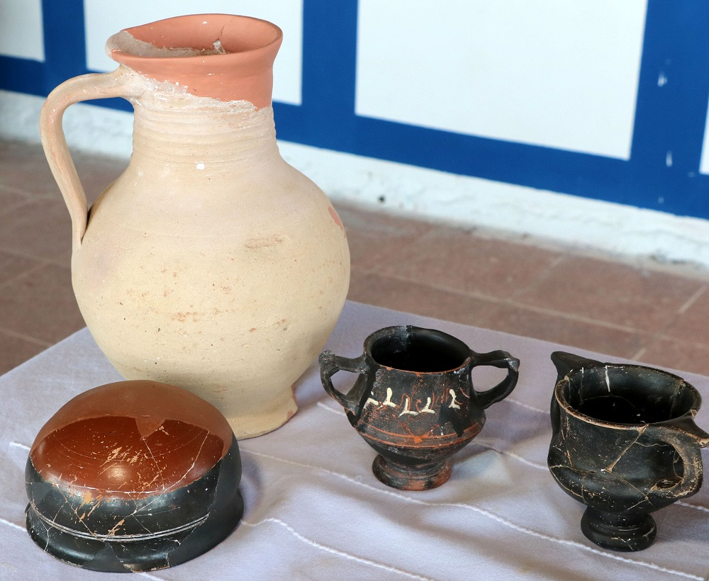 Kitchenware unearthed in Assos excavations Photograph DHA