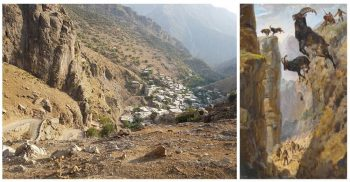 Paveh county of Kermanshah province