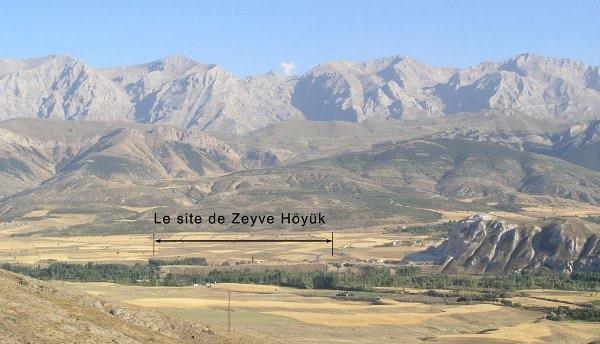 Porsuk Höyük (Zeyve Höyük) Neolithic period, Hittites, Iron Age, and Roman civilization traces can be seen. photo IFEA