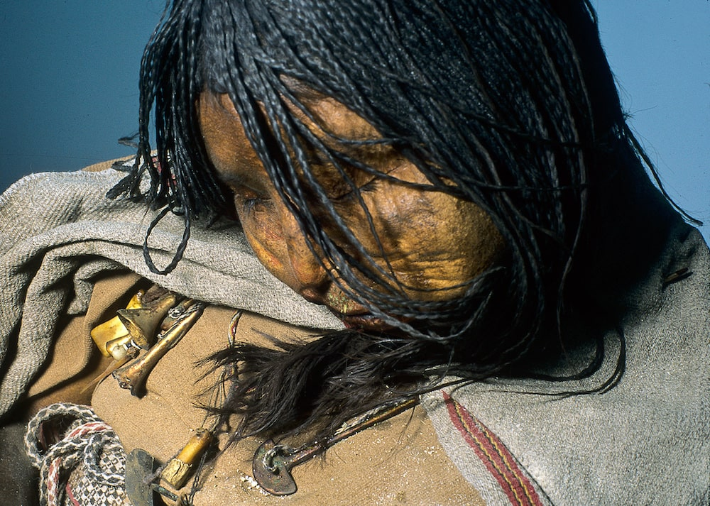 The mummy, called La Doncella or The Maiden, is that of a teenage girl who died more than 500 years ago in a ritual sacrifice in the Andes Mountains.