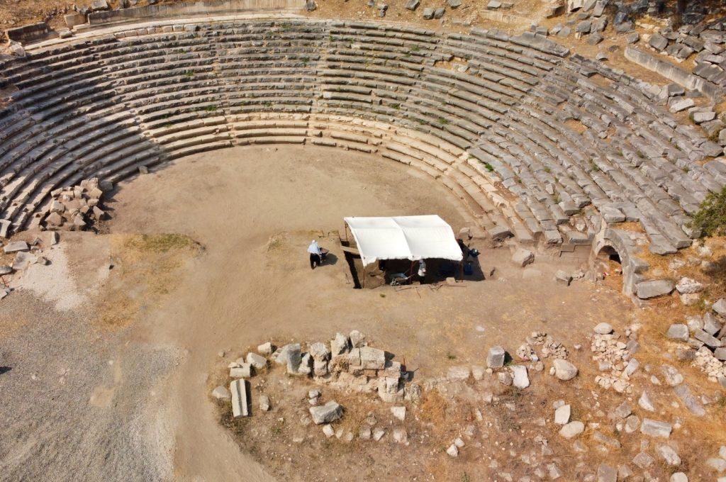 Ancient city of Kastabala in southern Turkey's Osmaniye.