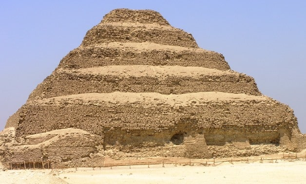 The Step Pyramid of Djoser is the oldest pyramid in Egypt. It was built about 4,700 years ago.