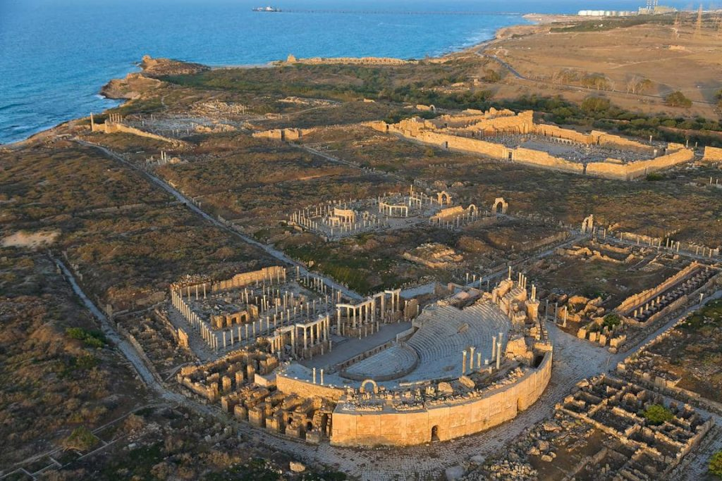 General view of Leptis Magna